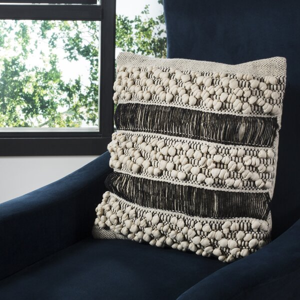 Lahna 100% Cotton Throw Pillow by Bungalow Rose